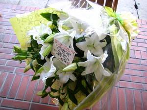 お誕生日用花束